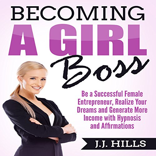 Becoming a Girl Boss audiobook cover art