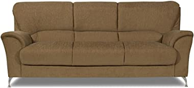 Home City Piper Three Seater Sofa (Brown)