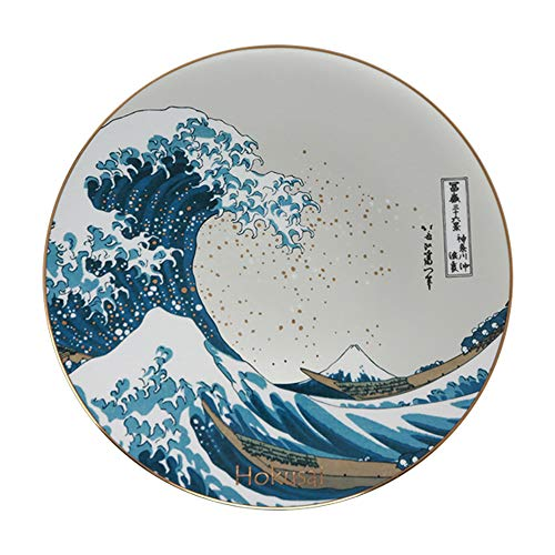 Goebel Die Welle, Hokusai,Wandteller, Wand Teller, Dekoteller, Dekoration, Porzellan, 66489411