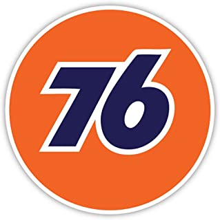 76 Gas Station racing sticker decal 4