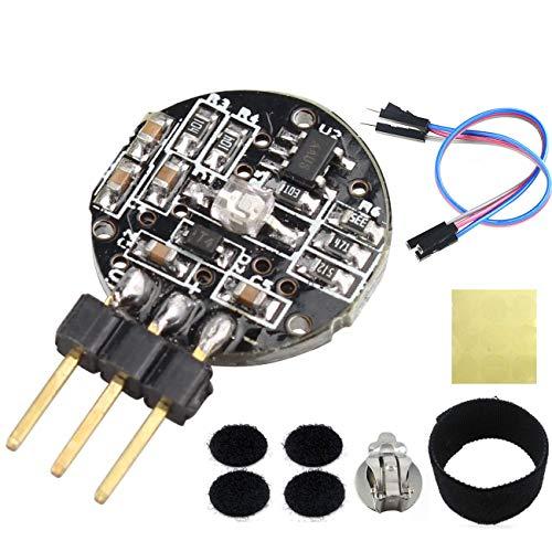 Asiawill Pulsmesser, Herzfrequenz Sensor Modul kompatibel für Arduino