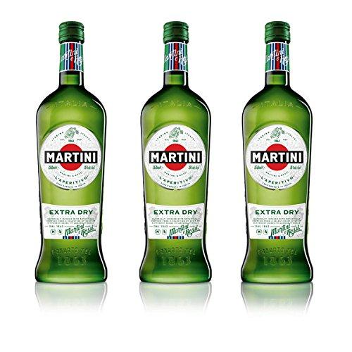 Martini Extra Dry Wermut (3 x 0,75 l)