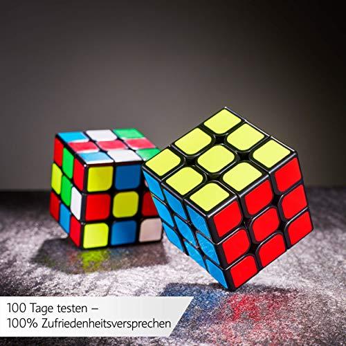 3×3 Zauberwürfel – Original Cubixs Speedcube – Typ Los Angeles – mit optimierten Dreheigenschaften für Speed-Cubing - 9
