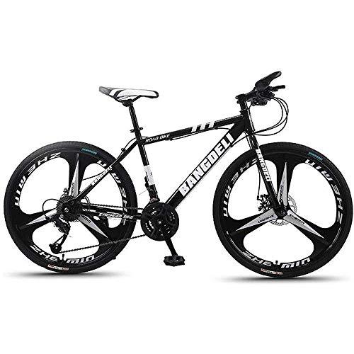 L&WB Bicicleta De Montaña 26'Muchas De La Montaña De Las Señoras/para Hombre 21/24/27/30 Freno De Disco Delantero De La Suspensión del Marco del Acero Al Carbono Ligero,C,24speed