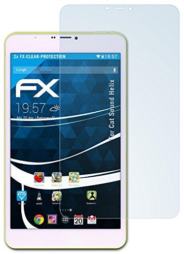 atFolix Schutzfolie kompatibel mit Cat So& Helix Folie, ultraklare FX Bildschirmschutzfolie (2X)
