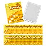 Paquete de 40 Calentadores de Cuerpo Ecológicos - Parches de calor activados por aire de hasta 10 horas de calor.