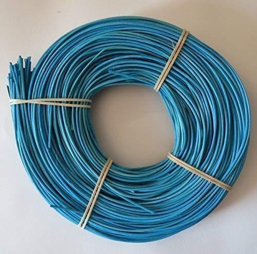 Schardt Peddigrohr 500g gelb orange rot blau grün in 2,25 und 3 mm wählbar Korb Peddig (blau, 3.00 mm) Flechtmaterial Flechtrohr körbe flechten
