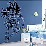 Tianpengyuanshuai Niño Personaje de Dibujos Animados Etiqueta de la Pared decoración del Dormitorio Etiqueta de la Pared Etiqueta extraíble Impermeable Vinilo Arte Mural 148X103cm