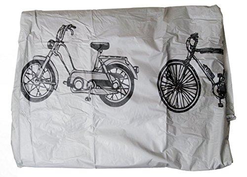 Filmer - Coperta per bicicletta, 200 x 110 cm, colore: argento