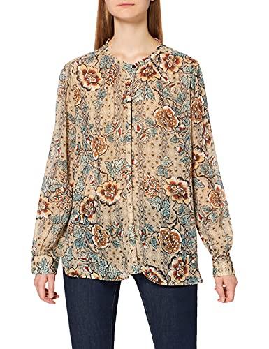 REPLAY W2323 Blusas, 010 Multicolor, M para Mujer