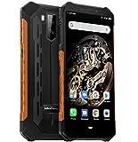 Ulefone Armor X5 4G Télephone Portable Incassable Debloqué, MTK6763 Octa-Core 3Go de RAM 32Go de ROM, IP68 Smartphone...