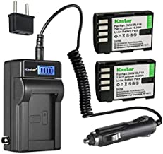 Kastar 2-Pack DMW-BLF19 Battery and LCD AC Charger Compatible with Sigma SD Quattro, Sigma SD Quattro H Digital Camera, Sigma PG-41 Battery Grip for sd Quattro & H Digital Camera