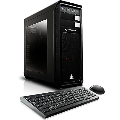 CybertronPC Blueprint QDM7200A Design Workstation - AMD Ryzen 7 1700 3.0GHz 8-Core, 8GB DDR4, Quadro K420, 1TB HDD, Microsoft Windows 10 Pro