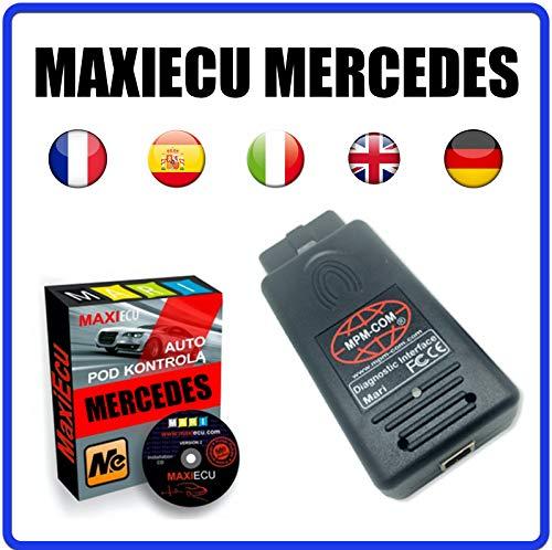 MISTER DIAGNOSTIC Diagnosegerät MPM-COM + MaxiECU 2 für Mercedes Fahrzeuge – Profi-Diagnose