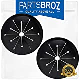 WC03X10010 Splash Guard for GE Garbage Disposals by PartsBroz - Replaces AP5330351, 2134472, AH3505442, EA3505442, PM03X0211, PM3X211, PM3X211GDS, PS3505442, WC03X0125, WC03X10002 (Pack of 2)