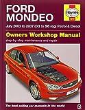 Ford Mondeo Petrol & Diesel (July 03 - 07) Haynes Repair Manual (Haynes Service and Repair Manuals) by Anon (2014-12-12)