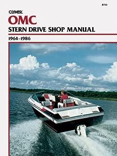 Clymer OMC Stern Drive Shop Manual, 1964-1986