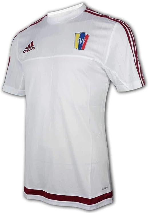 Amazon.com: adidas Venezuela Training Jersey White: Clothing