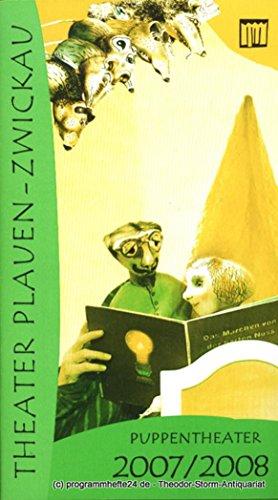 Programmheft Puppentheater Spielzeit 2007 / 2008