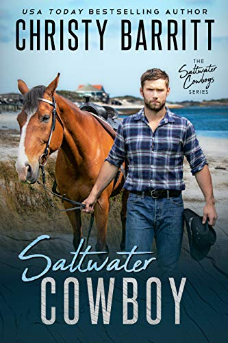 Saltwater Cowboy: An Edge of Your Seat Christian Romantic Suspense Novel with Wild Horses and an Isolated NC Island (Saltwater Cowboys Book 1) by [Christy Barritt]