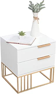 sxyp Armoire De Chevet Simple Et CréAtive Table De Chevet Blanche Hotel Locker Casier Multifonctionnel pour Chambre à Couc...