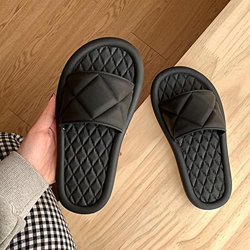 Kirin-1 Zapatillas De Novia,Zapatillas Mujer Verano Estudiante dormitorios Antideslizante baño zapatillas-38-39_I