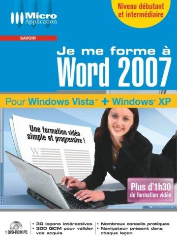 Je me forme à Word 2007