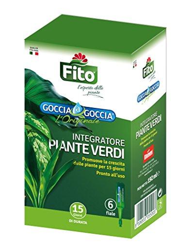 Fito X100401 Goccia Piante Verdi, Verde, 8.1x5.6x14 cm