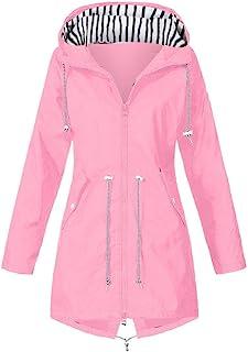 Juego de chaqueta de lluvia para mujer, impermeable, transpirable, invierno, cálido, con capucha, impermeable, cortaviento...