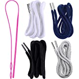 Drawstring Cords Replacement Drawstrings with Easy Threader for Sweatpants Shorts Pants Jackets Coats (Red...