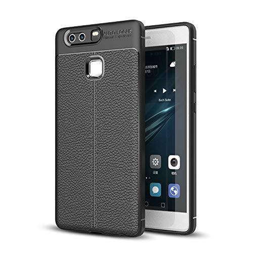 Jielangxin Funda para Huawei P9 Plus Carcasa,Funda para Huawei P9 Plus VIE-L09 VIE-L29 VIE-AL10 Funda Concha Protectora Case Black