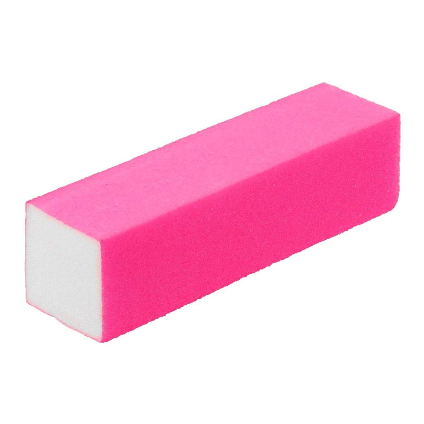 自分のために時々球体jackyee 1ネイル蛍光色4面ポリッシュ豆腐ブロック-ピンク1Pcネイルポリッシャー4ウェイバッファーバフ研磨ブロックマニキュアファイルネイルバッファーアートツール