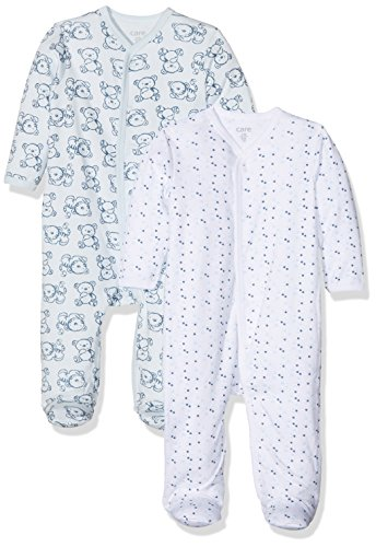 Care Pijama para Bebé Niño, Pack de 2 Blau (Light blue 700
