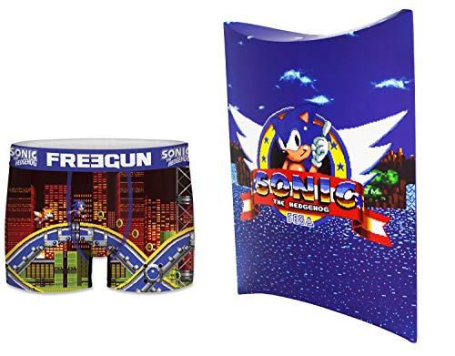 Sonic Boxer met geschenkzakje, officiële collectie Freegun – heren