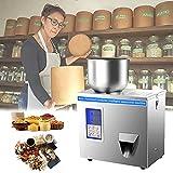 HAIT Pneumatic Riempitrice per Alimenti, Confezionatrice Volumetrico per Polveri con Quantità Precisa, Impostazioni Intelligenti, Finestra Trasparente