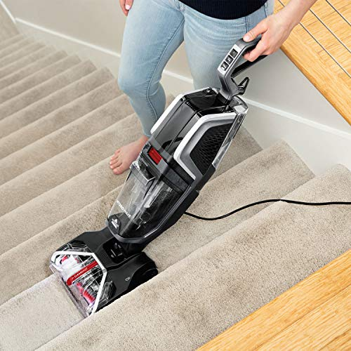 BISSELL HydroWave   Powerful Carpet Cleaner With Compact Foot Print And Retractable Handle   Carpets...