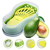 Avocado Slicer - Avocado Saver 5-in-1 Multi-Functional Avocado Tool Set | Avocado Keeper