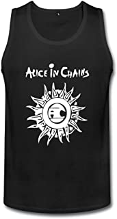 成人 かわいい アリスインチェインズ ランニング シャツ タイツ Black