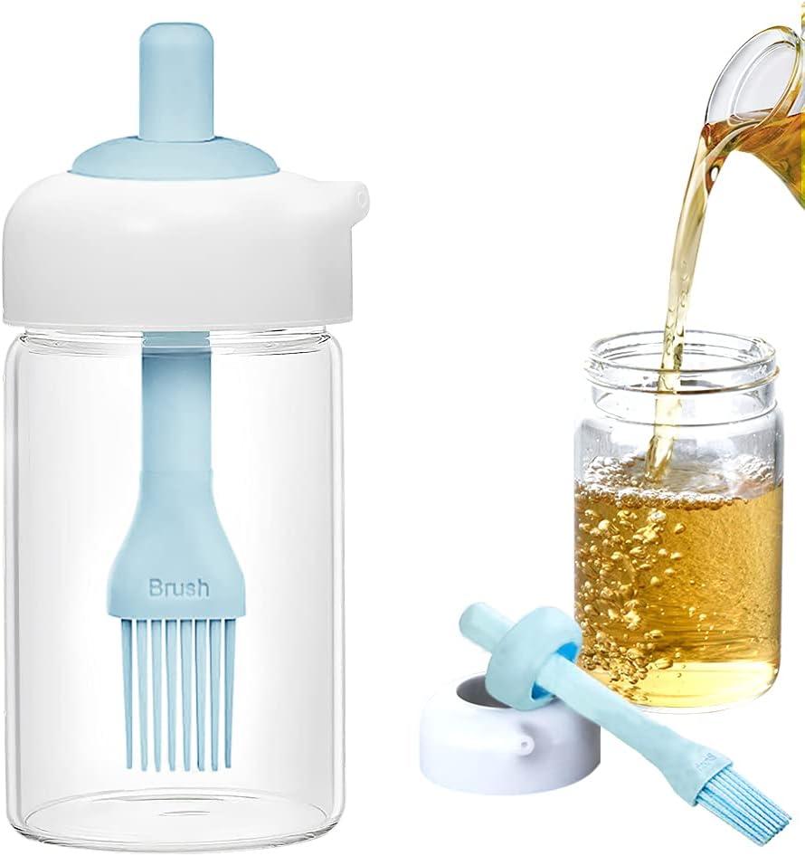 Sunnyac Oil Dispenser Bottle 2 in Seasonal Wrap Introduction 1 Regular discount Seasoning Opening Cont Wide