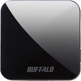 BUFFALO 無線LAN親機 11ac/n/a/g/b 433/150Mbps トラベルルーター ブラック WMR-433W2-BK