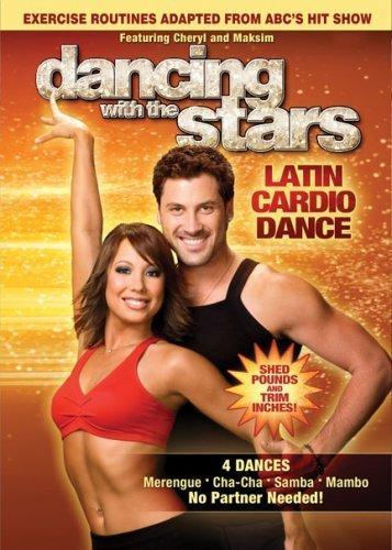 Dancing With The Stars Latin Cardio Dance DVD 4 Dances Merengue / Cha-cha / Samba / Mambo