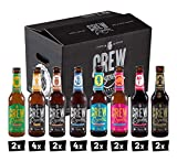 CREW Republic Craft Beer Box, Craft Bier Probierset Biertasting (20 x 0,33l)