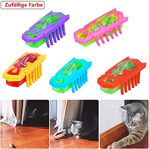 Lomire Katzenspielzeug Maus Spielzeug Katze für Katzen,käfer Spielzeug für Katzen, Maus Spielzeug (B:2Stück)