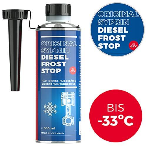 SYPRIN Diesel Frost Stop Protezione dal Freddo Invernale Diesel additivo Carburante Funzionamento Invernale 300ml