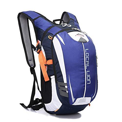 LOCAL LION 18L Zaino Unisex per Ciclismo Borsa Sportiva da Trekking Escursione Ultraleggero Alpinismo Zaino per Scuola (Blu)