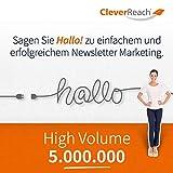 CleverReach Newsletter Software, Email Marketing Automation, High Volume Tarif 5.000.000, Web Browser, Monatliches Abonnement -
