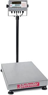 Ohaus D71XW300HX2 Defender 7000 Rectangle Scale, 600lb x 0.1Lb (300kg x 0.05kg)