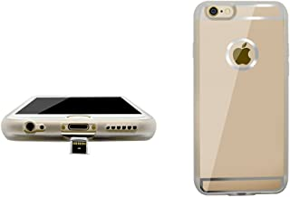 Lucid Smart Ultra Slim Gold iPhone 6s 6 Qi Wireless Charging Receiver Case with removable plug for wireless and wired charging for Apple