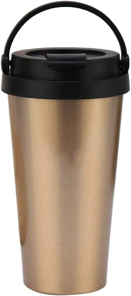 500ML Stainless Steel Insulated Coffee with New arrival Tumbler Mug Import Cup Hand