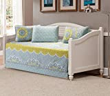 Fancy Collection 5pc Day Bed Quilted Coverlet Daybed Set New (Oslo Yellow)